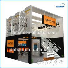 El constructor de la expo de Shanghái personalizará la exposición de doble historia del stand de exhibición, construirá un stand de dos pisos