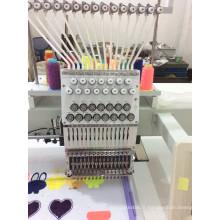 Machine à broder de tête simple d'ordinateur de machine de broderie de point de chaîne