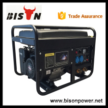 BISON China 5kw 5000W CE High Quality Honda 3 Phase Welding Generator
