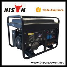 BISON China 5kw 5000W CE de alta qualidade Honda 3 Phase Welding Generator