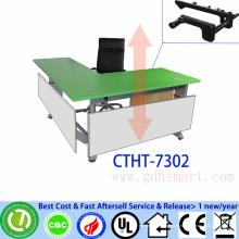 kleine Büro Besprechungstisch manuelle Kurbel höhenverstellbare Tisch Walnüsse zu verkaufen