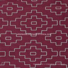 2016 Красный цвет Современный дизайн Window Curtain Fabric