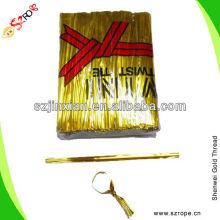 colorful decorative twist tie/twist tie