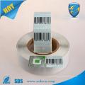Cosmetics shop anti theft rf sticker 8.2mhz printing eas rf label