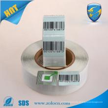 Barcode Soft-Tag EAS RF Papier Etikett für Tagging-System