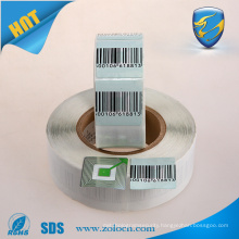 barcode soft tag EAS RF paper label for tagging system