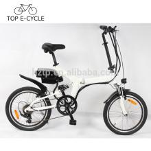 Bicicleta eléctrica de la energía verde bicicleta plegable eléctrica de 20 pulgadas