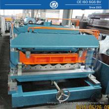 China Precio de fábrica Carretilla de teja de techo que forma la máquina