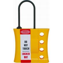 Cerradura de nylon con cerradura hermética aplicada a orificio de bloqueo de 3-6 mm