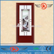 JK-AW9019 fabricants de portes de salle de bains en aluminium de style chinois