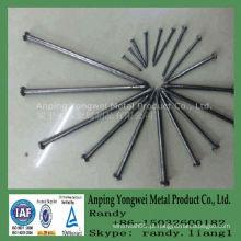 Fábrica comum do prego do fio com certificado ISO9001