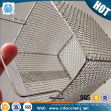 Kundenspezifischer Korb des Formgewebes des Edelstahls 304 für Hochdruckreiniger