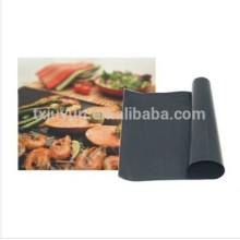Antiadherente libre de aceite como se ve en tv bbq grill mat antiadherente hornear malla