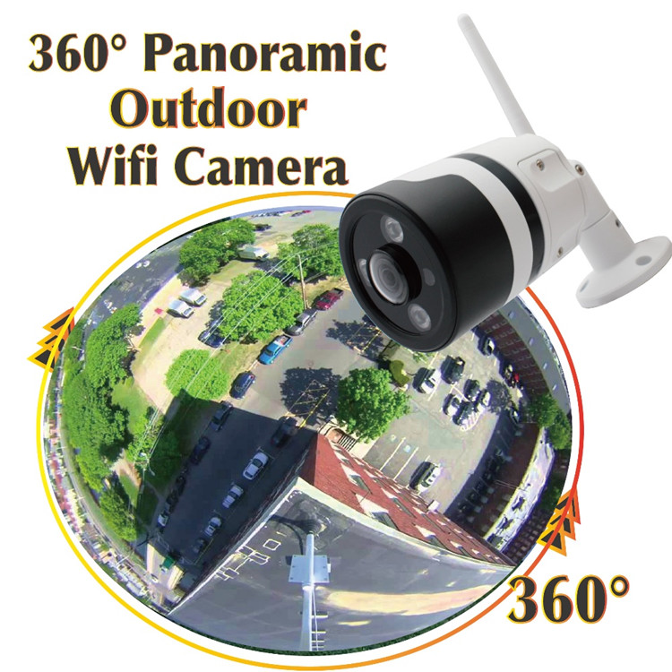 360 degree ip camera