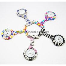 Relógios Fob de enfermeiras de impressão personalizados novos