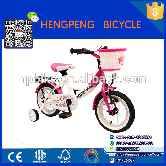 Newest Kids Bike With Aluminium Alloy Frame And Training Wheels