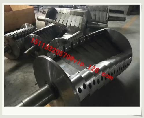 Plastic Crusher Cutter Blade and Cutter Saddle