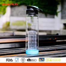 High Quality Tritan Material Customized Color Fruit Infuser Water Bottle