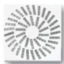 Высокое качество лист железа для вихревой диффузор для кондиционирования воздуха