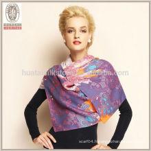Écharpe en laine de couette douce et confortable