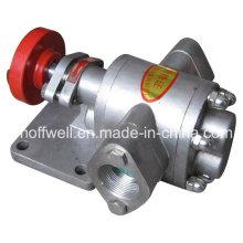 Pompe à huile à engrenages en acier inoxydable approuvée par CE KCB83.3