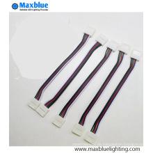 12mm Breite Solderless SMD5050 Streifen zum Streifen RGBW Steckverbinder