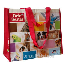 muestras gratis bolsa tejida de plástico bopp