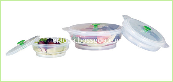 LFGB Standard Silicone Lunch Bento Box