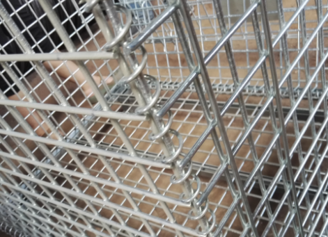 High Strength Wire Mesh Pallet Cage