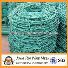 Galvanizado e bobinas de arame farpado revestidas de PVC