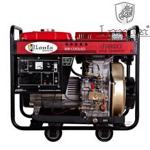 Kama Tipo 4kVA Generador Diesel Abierto con Ruedas