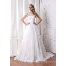 A-Line vestido de novia nupcial