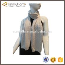 Bufanda hecha punto fábrica del infinito de la cachemira de China para las señoras