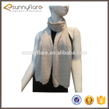 China factory knitted cashmere infinity scarf for ladies