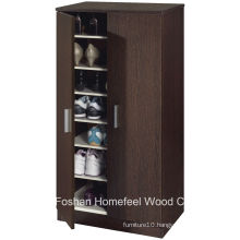 Hallway Furniture Wooden 2 Door Shoe Cabinet (SC04)
