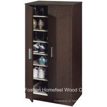Mobiliário de corredor Gabinete de sapato de madeira de 2 portas (SC04)