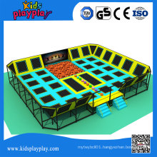Kidsplayplay Muti-Function Kids Large Indoor Jumping Bungee Trampoline Park