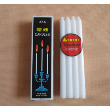 Goedkope Mini Dripless White Stick Candles