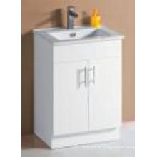 White Gloss MDF Bathroom Vanity (SK6027-600W)