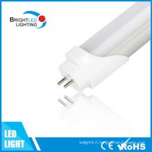 L'école allumant les lumières blanches de tube de 4 FT 120cm T8 LED avec UL