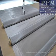 Fabrication de prix d'usine de grillage d'acier inoxydable / treillis métallique d'acier inoxydable de 20 microns