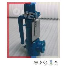 Válvula de alívio de segurança rosqueada BS / NPT para água