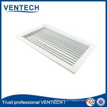 Grelha de deflexão de alumínio de ventilação do sistema de ar condicionado