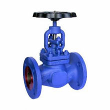 Cast iron flanged steam globe valves J41T/W/H/F/X-16