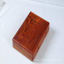Caixa de equipamento de pesca de madeira de novo design