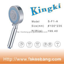 ABS Five Functions 4 Inch Hand Shower