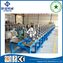 pallet racking machine storage column roll forming mill