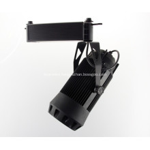 30w COB LED Track Light 2100-2200lm AC90-260V RA>80 Size 228*215*168mm angle adjustable spot light