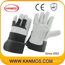 Industrial Seguridad Vaca Split cuero trabajo guantes (110094)
