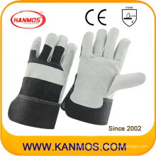 Industrial Safety Cow Split Leather Work Gloves (110094)